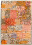 Florentinisches Villenviertel Orange, Paul Klee